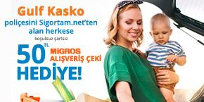 Gulf Sigorta ve Sigortam.net'ten Hediyeli Kasko Avantajı!