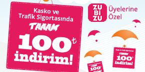 Sigortam.net'te Aracınızı TAAAAAM 100 TL indirimle Sigortalatın!