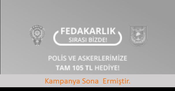 Güvenlik Güçlerine 105 TL'lik Hediye Sigortam.net'te!
