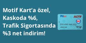 Motif Kart Sahipleri Sigortam.net'te Kazanıyor!