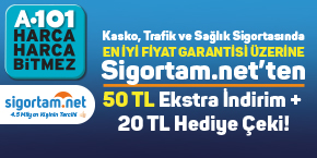 Sigortam.net ve A101'den Büyük Fırsat!