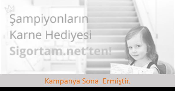 Şampiyonların Hediye Sigortam.net'ten!