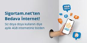Cep Telefonunuzu Güvence Altına Alın, 4 GB İnternetiniz Bizden Hediye Olsun!