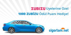 ZUBİZU Üyelerine Her Poliçe İçin TAAAAAM 1.000 Ödül Puan Hediye!